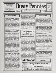 Rusty Pennies: September 1994, No. 3