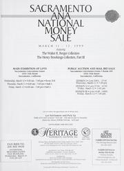 Sacramento ANA National Money Sale