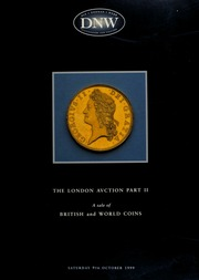 Sale no. 43 : tthe London auction, part. II : an auction of British and world coins ... [10/09/1999]