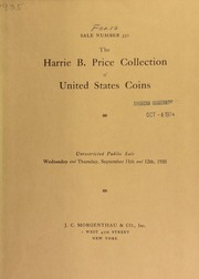 Sale number 352 : a collection of United States coins formed by the late Harrie B. Price ... [09/11/1935]