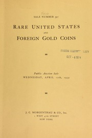 Sale number 397 : rare United States and foreign gold coins ... [04/12/1939]