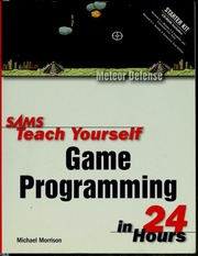 Sams teach yourself game programming in 24 hours morrison michael sams teach yourself game programming in 24 hours morrison michael 1970 free download borrow and streaming internet archive solutioingenieria Image collections
