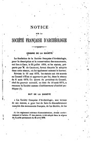 Vol 35: Séances générales tenues à ... en ... par la Société française pour la ...