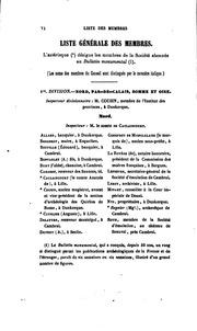 Vol 56: Séances générales tenues à ... en ... par la Société française pour la ...