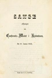 Sange afsjungne ved Conferents-Modet (1859)