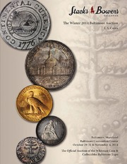The Winter 2014 Baltimore Auction, U.S. Coins