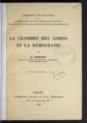 la chambre des lords et la dmocratie