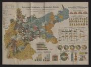 Reichstags - Wahlkarte