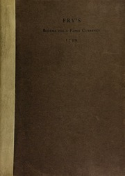 A scheme for a paper currency, together with two petitions written in Boston Gaol in 1739-1740, with an introduction by Andrew McFarland Davis.