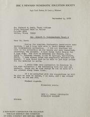 Robert F. Schermerhorn Trust A Correspondence, 1970-1972