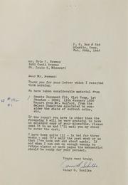 Oscar G. Schilke Correspondence, 1961-1962