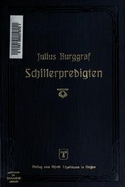 Schillerpredigten