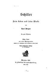Schiller, sein leben und seine werke;