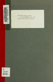Schopenhauer und die abendländische Mystik