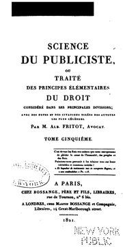 les divisions du droit pdf