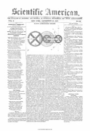Scientific American Volume 02 Number 52 (September 1847 ...