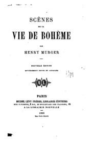 Scènes de la vie de Bohème...