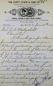 Scott regarding coinage for 1893