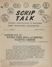 Scrip Talk: August 1974 Issue