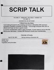 Scrip Talk: February 2001 Issue