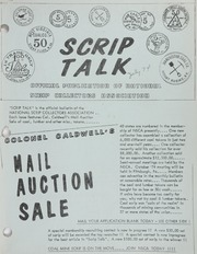 Scrip Talk: July 1974 Issue
