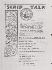 Scrip Talk: March 1993 Issue