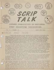 Scrip Talk: March 1974 Issue