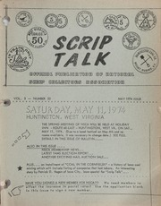 Scrip Talk: May 1974 Issue