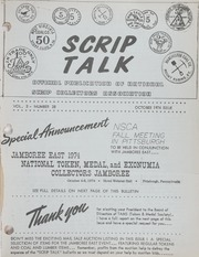 Scrip Talk: October 1974 Issue