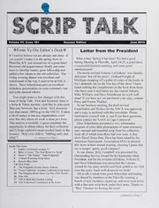 Scrip Talk: Summer 2015 Issue