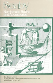 Seaby Numismatic Books and Accessories