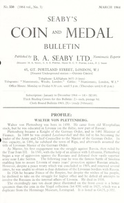 Seaby's Coin and Medal Bulletin: March 1964 (pg. 35)