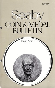 Seaby's Coin and Medal Bulletin: July 1976