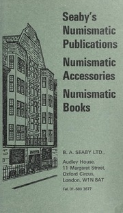 Seaby's Numismatic Publications: Numismatic Accessories, Numismatic Books
