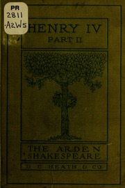 henry the fourth by william shakespeare essay Henry the fourth part one by william shakespeare available in trade paperback on powellscom, also read synopsis and reviews folger shakespeare library the world's.
