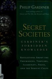 Secret societies : Gardiner's forbidden knowledge