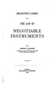 case studies on negotiable instruments act Negotiable instruments act, 1881 structure 10 objectives 11 introduction in his own name, in case of dishonour a negotiable instrument can be.