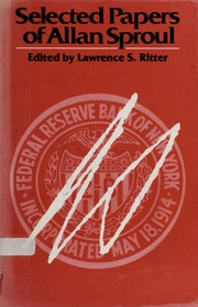 Selected Papers of Allan Sproul