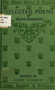 selected poems of william wordsworth matthew arnold s essay  selected poems of william wordsworth