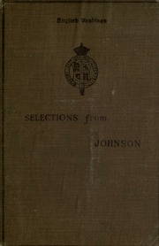 an introduction to the life of samuel johnson The life of samuel johnson (everyman's library) hardcover – january 11, 1993 james boswell (author), claude rawson (introduction) 42 out of 5 stars 67.