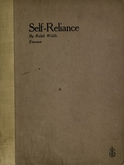 essay self reliance emerson
