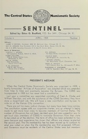 Sentinel [The Centinel], vol. 6, no. 2