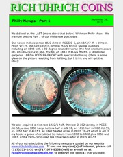 September 2013 - ANA Newps - Part 2, and Coin Dealer Etiquette - Collector's Perspective