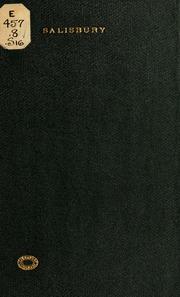 Sermon; preached at West Alexandria, Ohio, April 30th ...