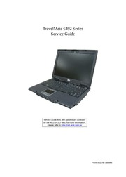 laptop service manuals acer free texts free download borrow rh archive org Acer TravelMate 11.6 Acer TravelMate 2480