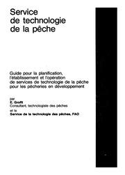 Service De Technologie De La Peche Fao Document Technique Sur Les Peches 199