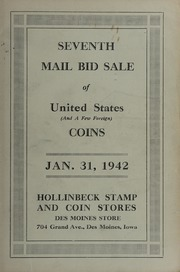Seventh Mail Bid Sale of United States (And A Few Foreign) Coins