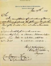 San Francisco Dies for mint (1-17-1896)