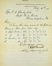 San Francisco Dies received (2-15-1894)