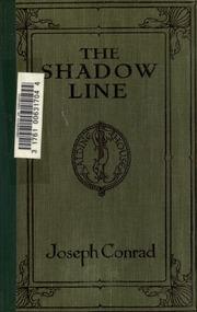 conrad the shadow line  The shadow-line : a confession : Conrad, Joseph, 1857-1924 : Free ...